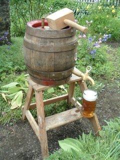Bier vom Fass!